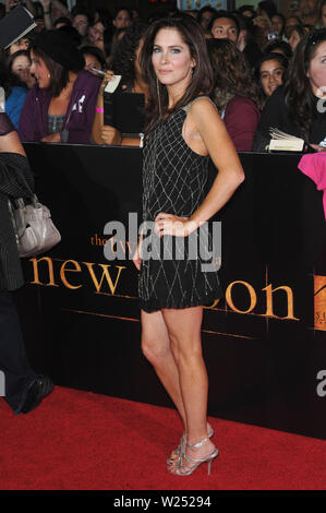 LOS ANGELES, CA. November 17, 2009: Grace Johnston at the world premiere of 'The Twilight Saga: New Moon' at Mann Village & Bruin Theatres, Westwood. © 2009 Paul Smith / Featureflash - Stock Photo