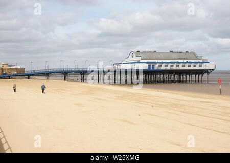 Cleethorpes Pier - Stock Photo
