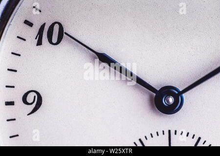 Old Pocket Watch like Time Passing Concept. Deadline, Running Out of Time and Urgency. - Stock Photo