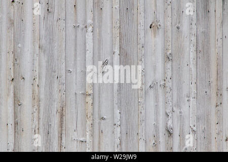 Textured Grain Barn Wood Background. Grey weathered wooden barn wall background in horizontal orientation. - Stock Photo