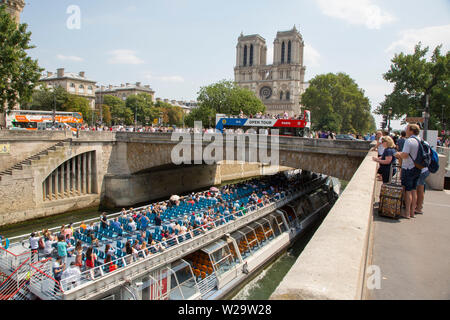 PARIS IN JULY - Stock Photo
