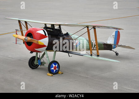 Nieuport 28 - Stock Photo