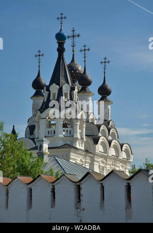 Cathedral of Annunciation of Blessed Virgin Mary at Annunciation monastery in Murom. Russia - Stock Photo