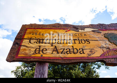 Campanarios de Azaba Biological Reserve, Salamanca, Castilla y Leon, Spain, Europe - Stock Photo