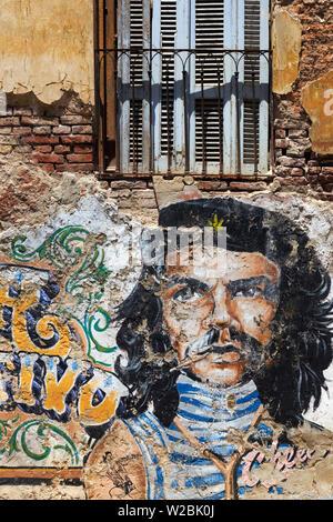 Argentina, Buenos Aires, San Telmo, Calle San Lorenzo - Stock Photo