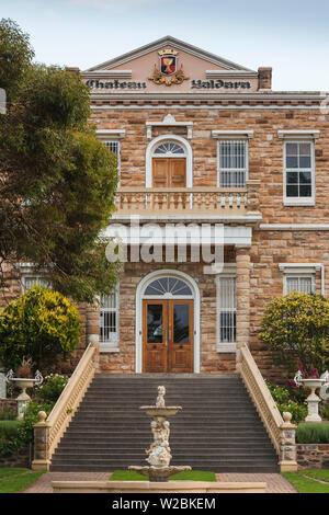 Australia, South Australia, Barossa Valley, Lyndoch, Yaldara Winery, exterior - Stock Photo