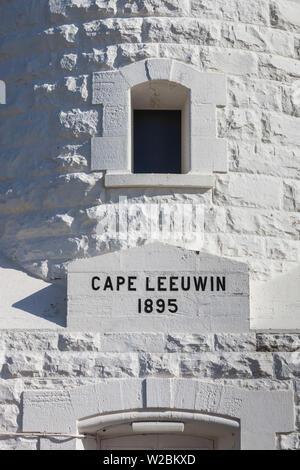 Australia, Western Australia, The Southwest, Cape Leeuwin, Cape Leeuwin Lighthouse - Stock Photo