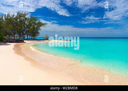 Caribbean, Barbados, Oistins, Miami Beach or Enterprise Beach - Stock Photo
