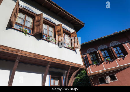Bulgaria, Southern Mountains, Plovdiv, Old Plovdiv, Ottoman-era house - Stock Photo