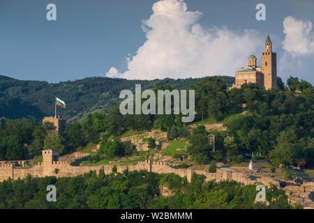 Bulgaria, Central Mountains, Veliko Tarnovo, Asenova, Old Fortress Area, Tsarevets Fortress - Stock Photo