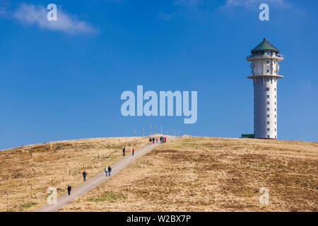 Germany, Baden-Wurttemburg, Black Forest, Feldberg Mountain, mountain lookoout tower