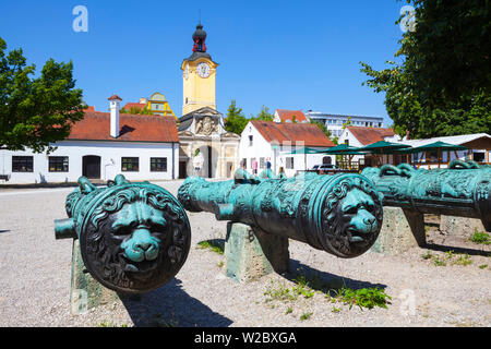 Bavarian Army Museum at the New Palace, Ingolstadt, Ingolstadt, Upper Bavaria, Bavaria, Germany - Stock Photo