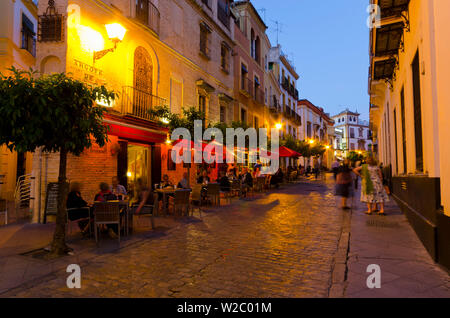Spain, Andalucia, Seville Province, Seville, Santa Cruz area - Stock Photo