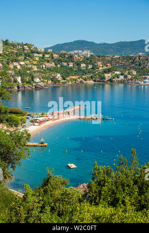 Theoule-sur-Mer, Esterel, Alpes-Maritimes, Provence-Alpes-Cote D'Azur, French Riviera, France - Stock Photo