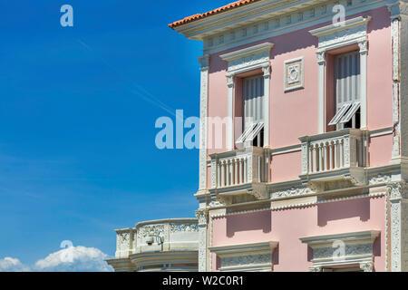 Villa Ephrussi de Rothschild, villa Ile-de-France, Saint-Jean-Cap-Ferrat, French Riviera, Alpes-Maritimes department, France - Stock Photo