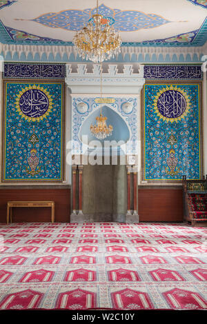 Georgia, Tbilisi, Old Town, Interior of Tbilisi Mosque - Stock Photo