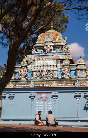 India, Himachal Pradesh, Shimla, Taradevi, The Sankat Mochan Temple dedicated to Lord Hanuman - Stock Photo