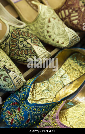 Iran, Central Iran, Shiraz, traditional Persian slippers - Stock Photo