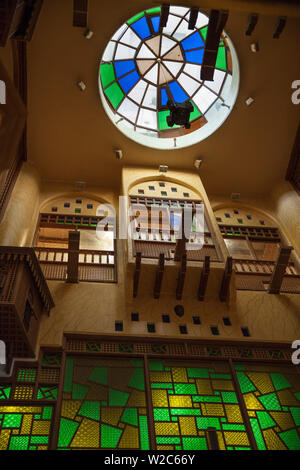 Kuwait, Kuwait City, Interior of Salmiya Trade Center - Stock Photo