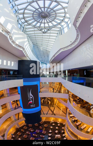 Kuwait, Kuwait City, Al Hamra Tower, completed in 2011 includes a luxury business and shopping center - Stock Photo