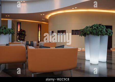 Qatar, Doha, The Torch Hotel - Stock Photo