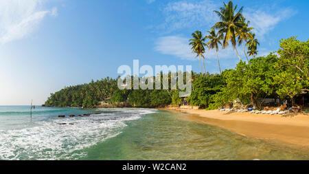 Mirrisa beach, Mirissa, South coast, Sri Lanka - Stock Photo