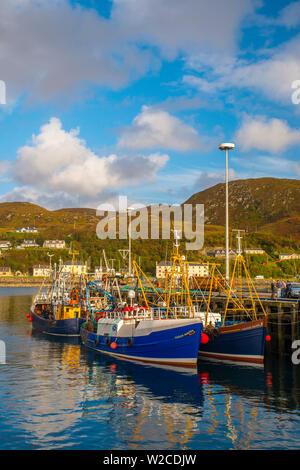 UK, Scotland, Highland, Mallaig - Stock Photo
