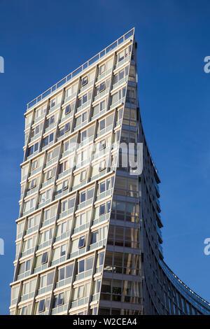United Kingdom, England, Merseyside, Liverpool, One Park West Building - Stock Photo