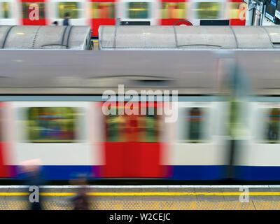 UK, England, London, Earl's Court Underground Station - Stock Photo