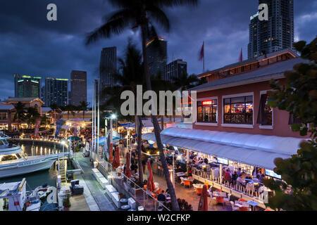 USA, Florida, Miami, Bayside Mall - Stock Photo