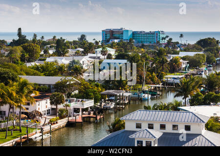 USA, Florida, Gulf Coast, Fort Myers Beach - Stock Photo