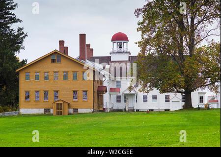 USA, New Hampshire, Canterbury, Canterbury Shaker Village, former Shaker religious community, buildings
