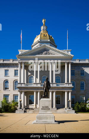 USA, New Hampshire, Concord, New Hampshire State House, exterior - Stock Photo