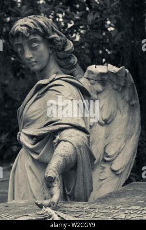USA, Georgia, Savannah, Bonaventure Cemetery - Stock Photo