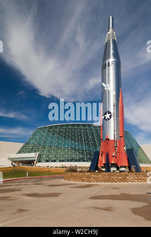 USA, Nebraska, Ashland, Strategic Air & Space Museum - Stock Photo
