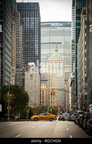 Park Avenue, Manhattan, New York City, New York, USA Stock Photo