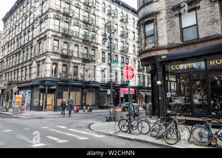 Lower East Side, Manhattan, New York City, New York, USA Stock Photo