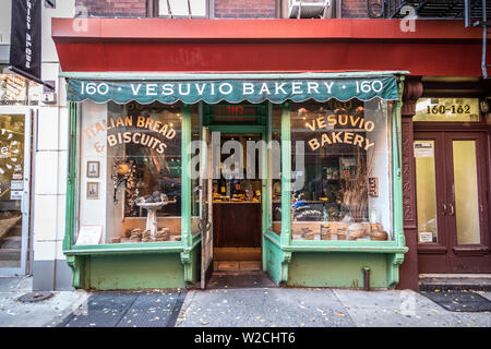Bakery in Soho, Manhattan, New York City, New York, USA Stock Photo