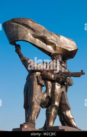 Vietnam, Dien Bien Phu, Victory Monument - Stock Photo