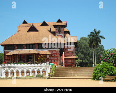 Museum building in the zoo of the city of Trivandrum - Stock Photo