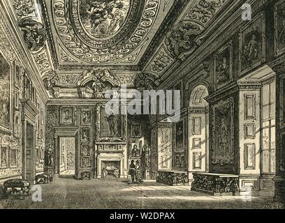 'Queen Caroline's Drawing-Room, Kensington Palace', c1876. Creator: Unknown. - Stock Photo