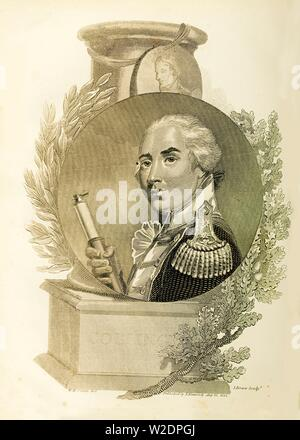 'Admiral Lord Collingwood', (1748-1810), 1816. Creator: Unknown. - Stock Photo
