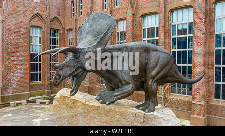 Yale Peabody Museum of Natural History, New Haven, CT, USA - Stock Photo