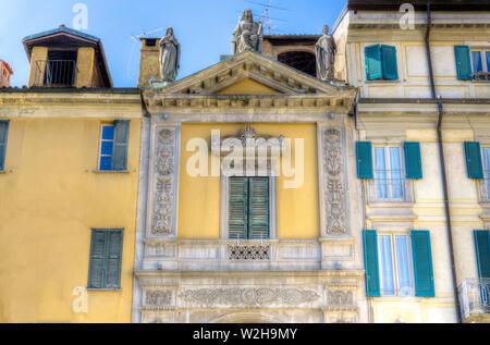 Italy, Lombardy, Varese, Piazza San Vittore, Arco Mera - Stock Photo