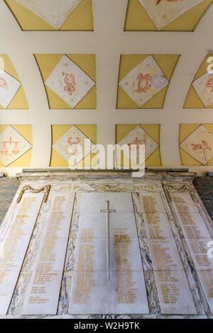 Italy, Lombardy, Varese, Arco Mera - Stock Photo