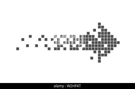 Vector 8 bit pixel art banner with transparent bubbles on