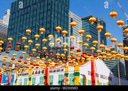 Chinese New Year celebrations, China Town, Singapore