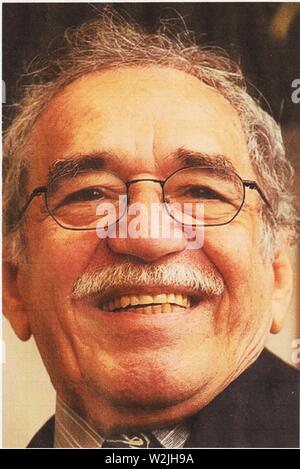 Gabriel García Márquez (6 March 1927 – 17 April 2014), was a Colombian novelist, 1982 recipient of the Nobel Prize in Literature. - Stock Photo