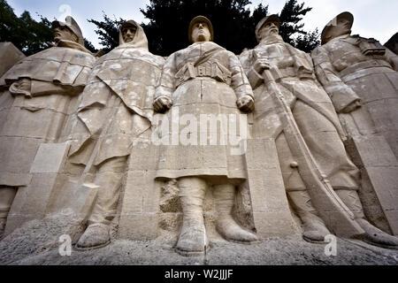 The 'Monument aux morts de Verdun' (Monument to the Dead of Verdun). Verdun, Meuse department, Grand Est region, France, Europe. - Stock Photo
