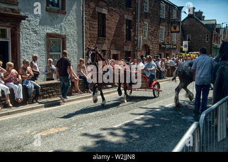 Appleby Horse Fair - Stock Photo